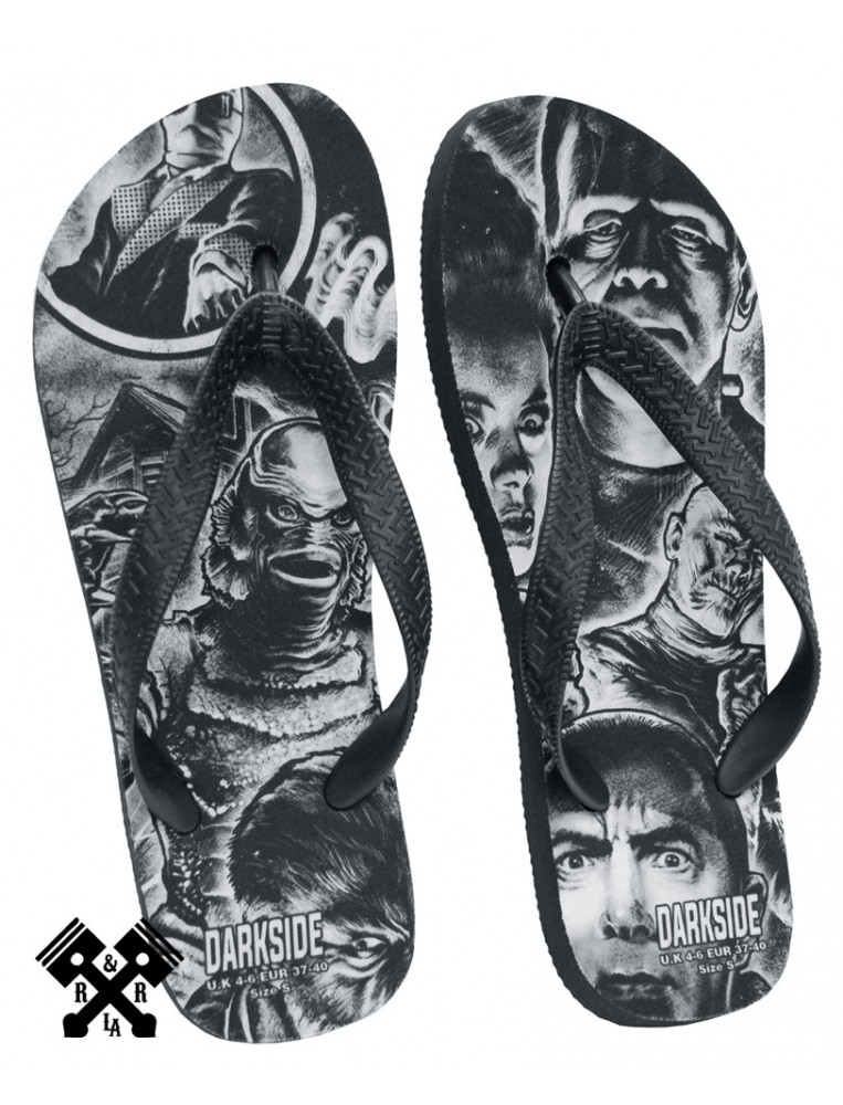 Unisex Monster Mash Flip Flops from Darkside