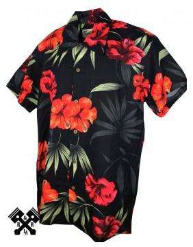 Karmakula Camisa Hawaiana Barcelona para hombre