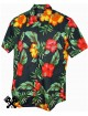 Karmakula Soho Black Hawaiian Shirt for woman