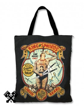 Liquorbrand King of Swords Totebag for woman
