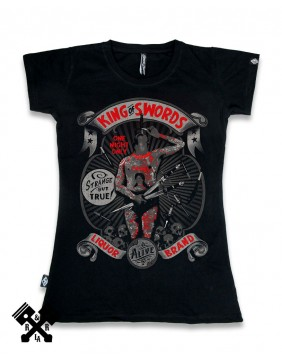 Liquorbrand King of Swords T-Shirt for woman