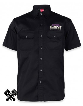 Camisa Hotrod Hellcat, Speed Kills para hombre, Frontal