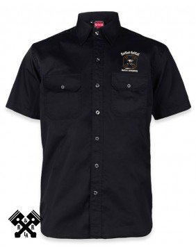 Hotrod Hellcat Motor Company Work Shirt for man, Front