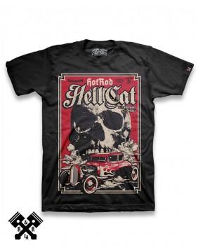 Camiseta True Nightmare para hombre, marca Hotrod Hellcat
