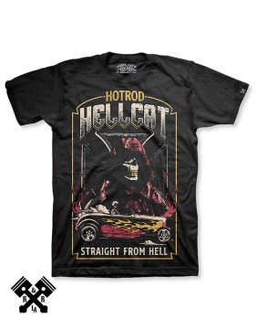 Hotrod Hellcat Straight From Hell T-shirt for man
