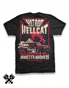 Camiseta Monster Madness de Hotrod Hellcat para hombre, espalda