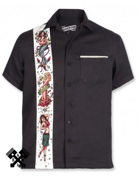 Camisa Flash Liquorbrand para hombre, Frontal