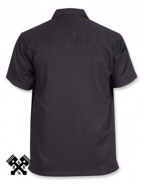 Liquorbrand Flash Bowling Shirt, Back