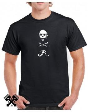 Camiseta negra Bar de Jo para hombre