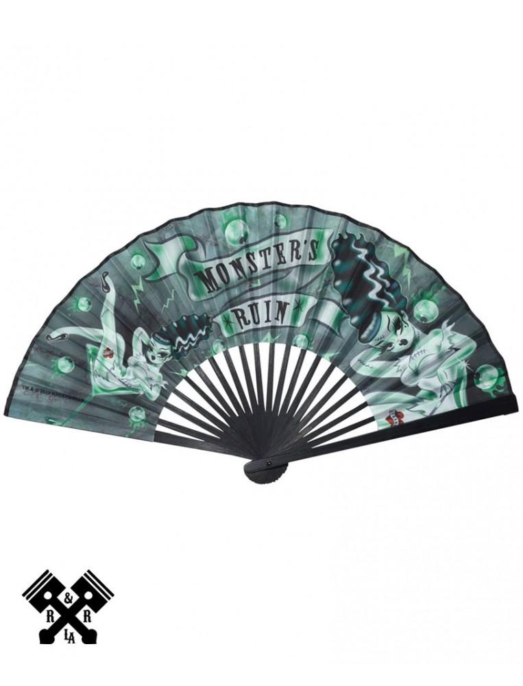 Monsters Ruin Fabric Fan