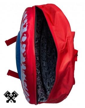 Eyeball Backpack Red Inside