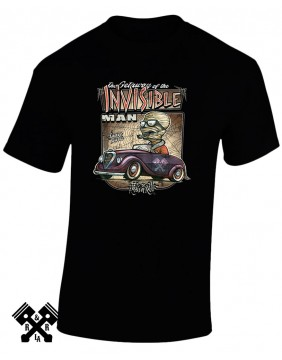 Camiseta Creeprunners Invisible Man para hombre de Rods 'N' Roll