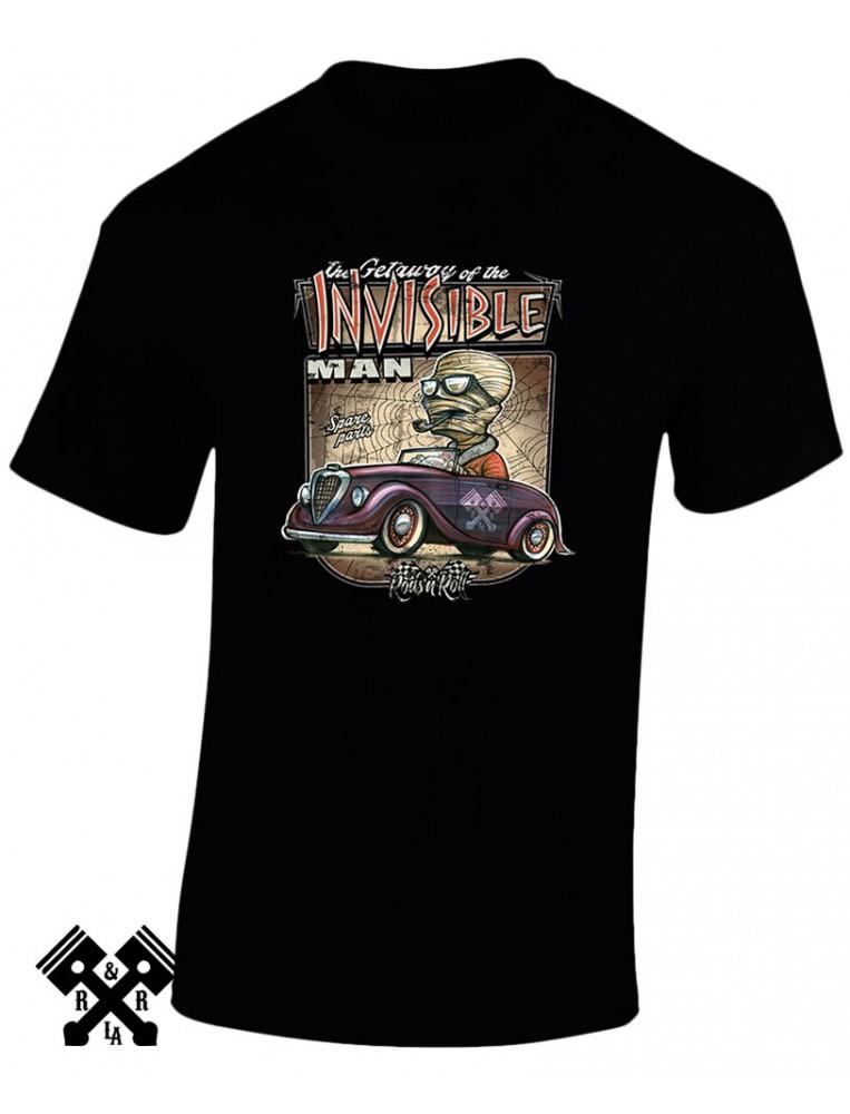 Camiseta Creeprunners Invisible Man para hombre de Rods 'N' Roll