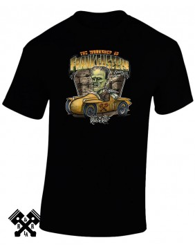 RNR Creeprunners Frankenstein T-shirt for man