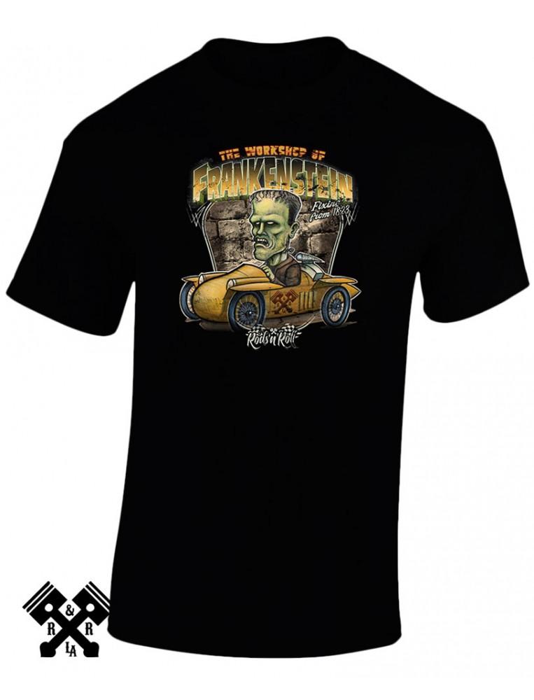 RNR Creeprunners Frankenstein T-shirt for man