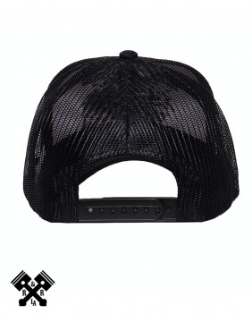 King Kerosin Motorpsycho Trucker Cap, back