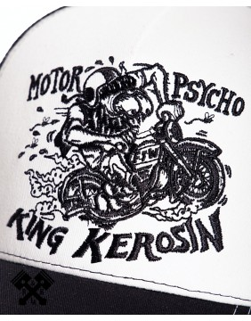 King Kerosin Motorpsycho Trucker Cap, detail