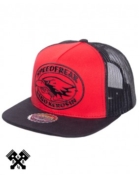 King Kerosin Speedfreak Trucker Cap, profile