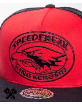 King Kerosin Speedfreak Trucker Cap, detail
