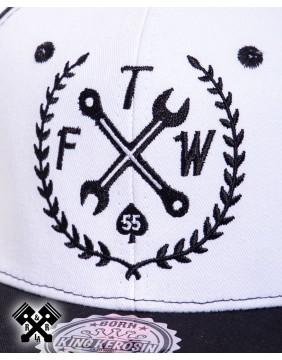 King Kerosin FTW Baseball Cap, detail