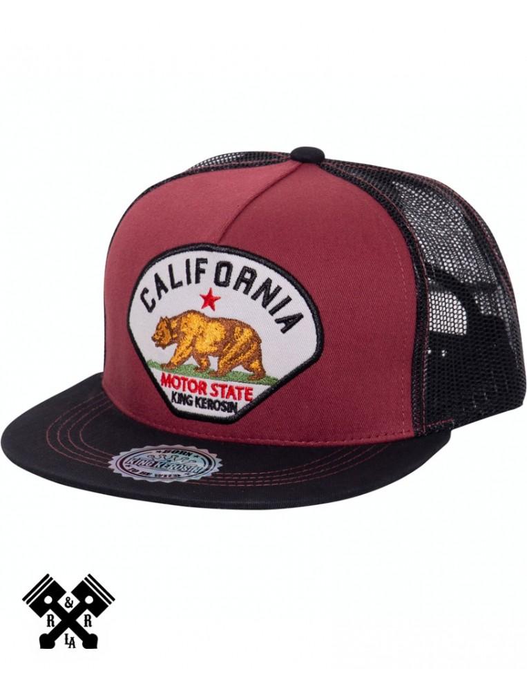 Gorra Californi marca king kerosin, perfil