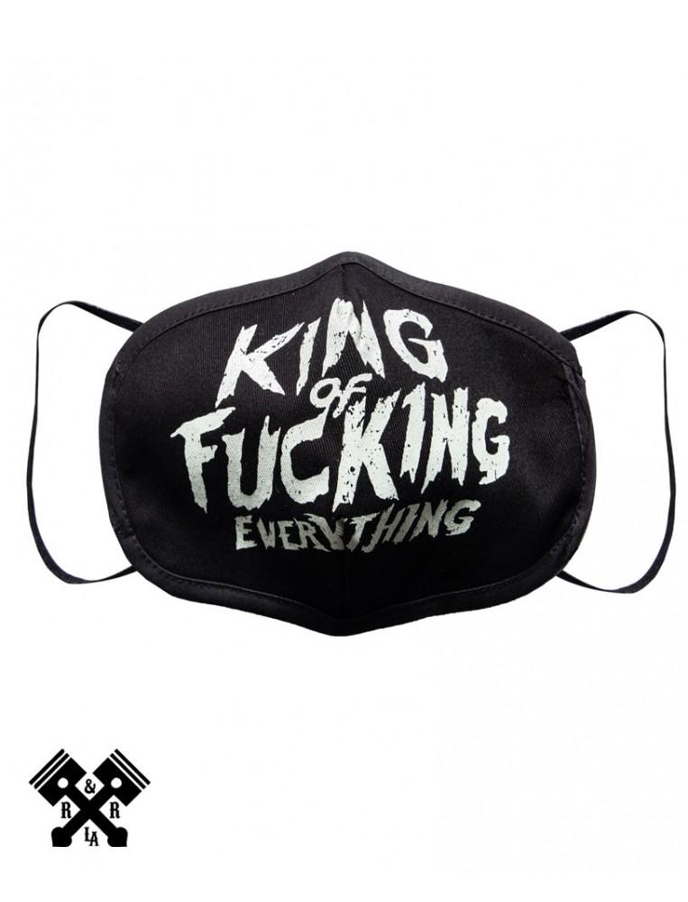 King Kerosin King Face Mask, front