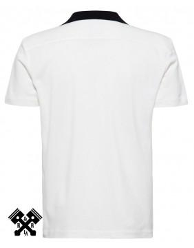 Camisa Bolera Racing marca King Kerosin para hombre, espalda