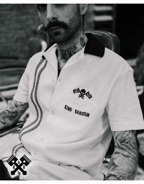 Camisa Bolera Racing marca King Kerosin para hombre, ejemplo 2