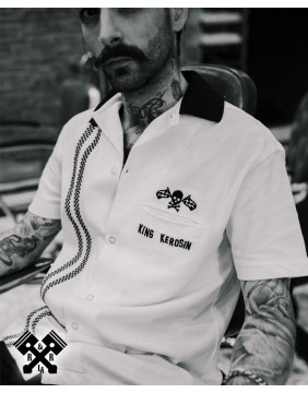 King Kerosin Racing Bowling Shirt, example 2