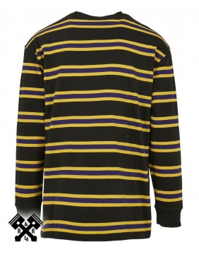 Urban Classics Long Sleeve Striped T-shirt, back