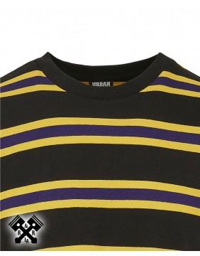 Urban Classics Long Sleeve Striped T-shirt, detail