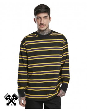Urban Classics Long Sleeve Striped T-shirt, model