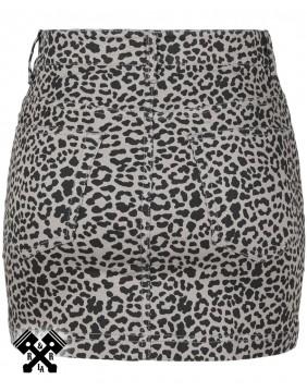 Mini Falda de leopardo marca Urban Classics, trasera