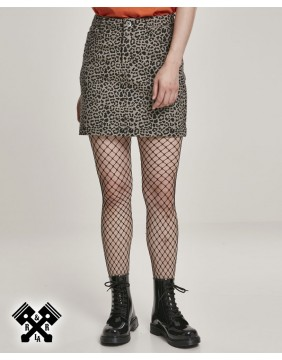 Urban Classics Leopard Mini Skirt, model