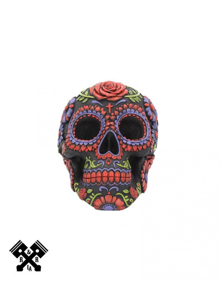 Sugar Bloom Decorative Skull, front