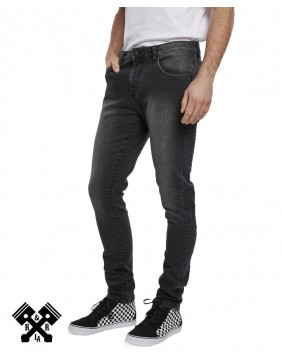 Urban Classics Slim Fit black Jeans, model