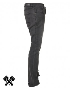 Urban Classics Slim Fit black Jeans, right profile