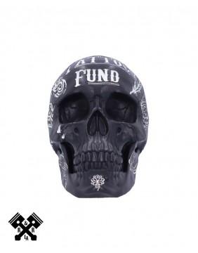 Tattoo Fund Skull Black, front