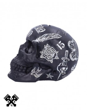 Tattoo Fund Skull Black, right profile