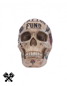 Tattoo Fund Skull, front