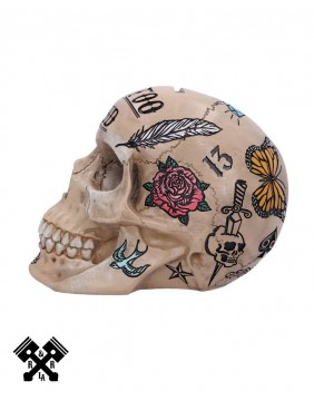 Tattoo Fund Skull, left
