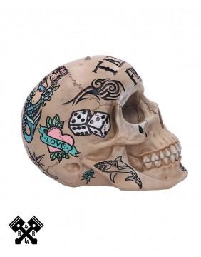 Calavera Hucha Ahorros Tattoo, derecho