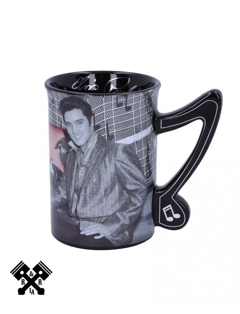 Elvis Cadillac Mug, right