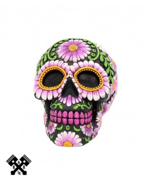 Skull Petal Money Box, front