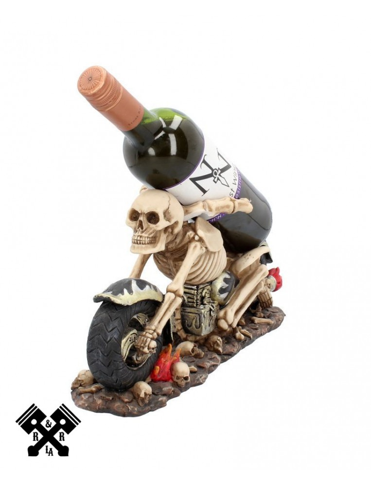 Death Ride Bottle Stand, front