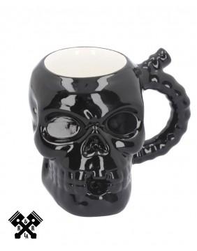 Skull Mug, front