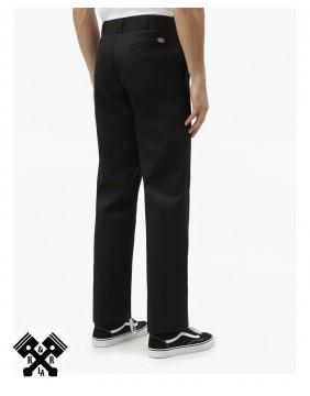 Dickies Pantalones 874 Original Negro, trasero