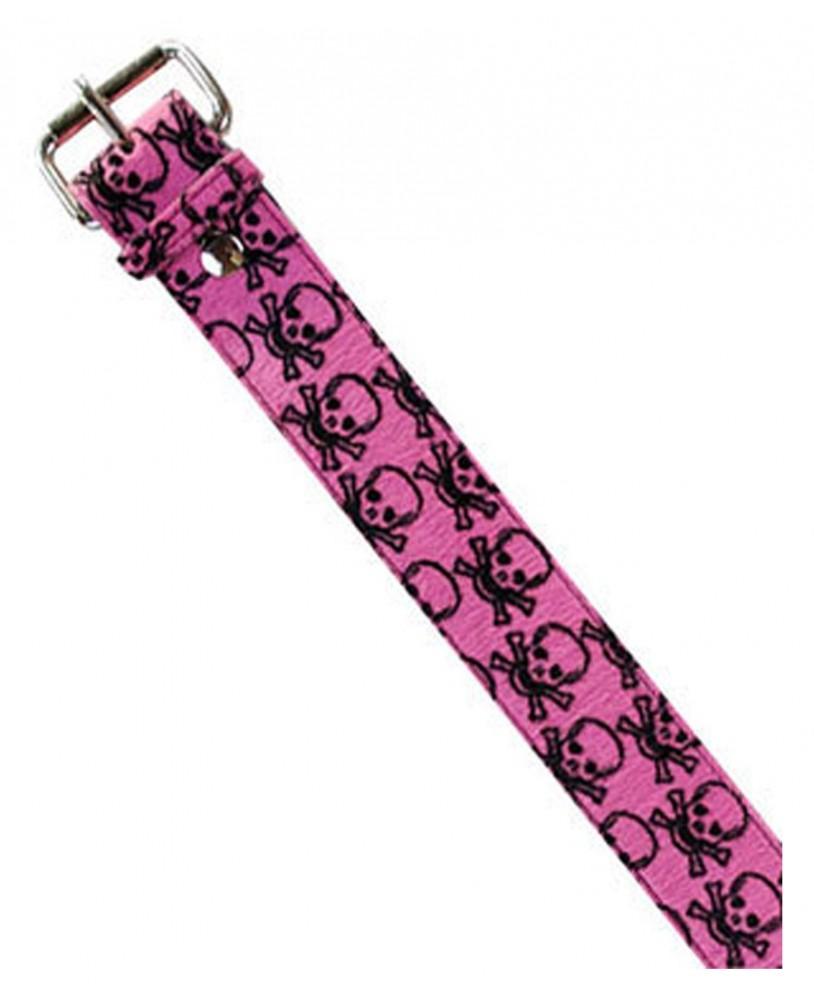 Darkside Pink Skull Belt