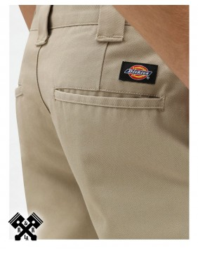 Dickies Pantalones 872 Slim Fit Khaki, detalle trasero