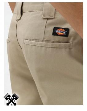 Dickies Slim Fit 872 Khaki Pants, back detail